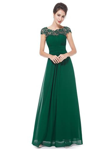 KATIE Dress - Green - Belle Boutique UK