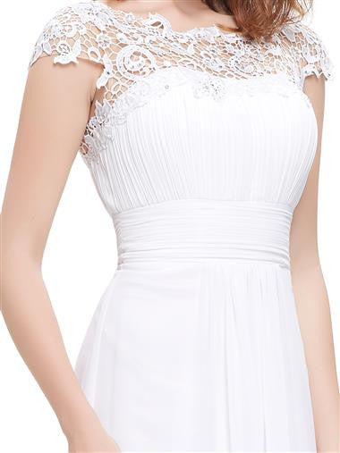 KATIE Dress - White - Belle Boutique UK