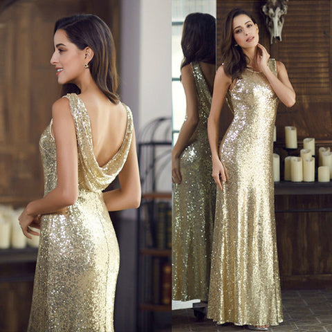 SASHA - Gold Sequin - Belle Boutique UK