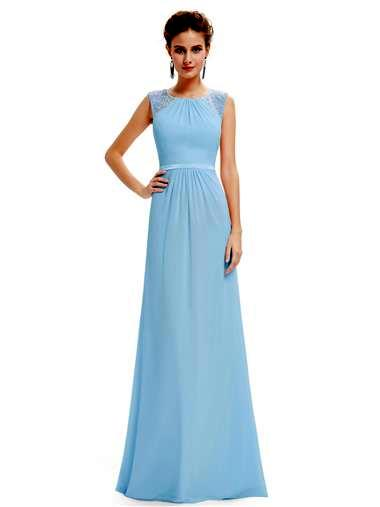 WILLOW  - Mid Blue - Belle Boutique UK
