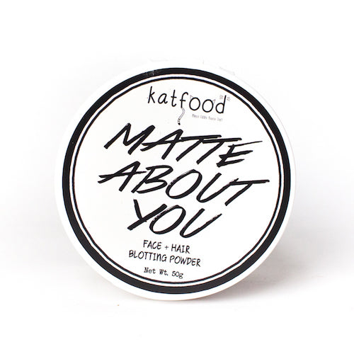 Matte About You Face + Hair Blotting Powder