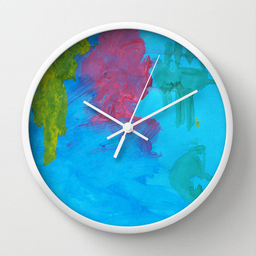 Custom art clock