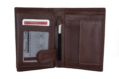 Grand Tourer Traveling Wallet Brown