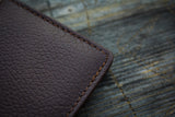 Pebbled Compact Bifold Wallet
