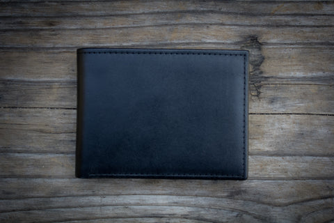 Executive Bifold Leather Wallet