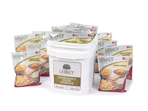 60 Serving Entree Bucket (Certified Gluten Free also Available)