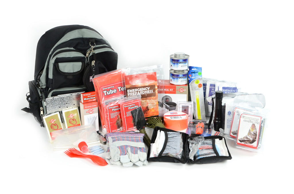 DELUXE 2-PERSON BUG-OUT BAG