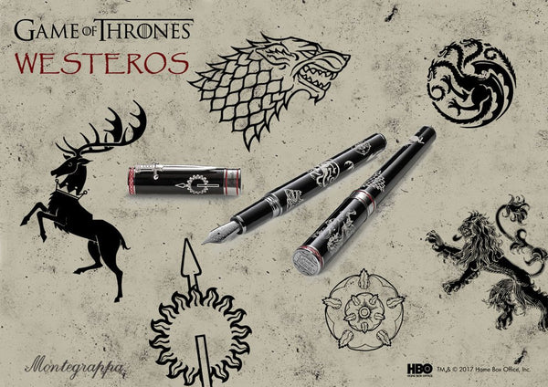 Montegrappa Game of Thrones - Westeros - Collection