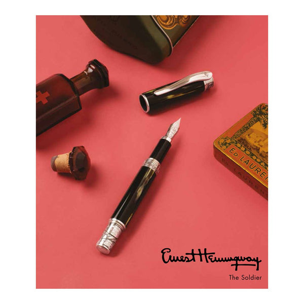 ERNEST HEMINGWAY 'THE SOLDIER' LIMITED EDITION PEN COLLECTION