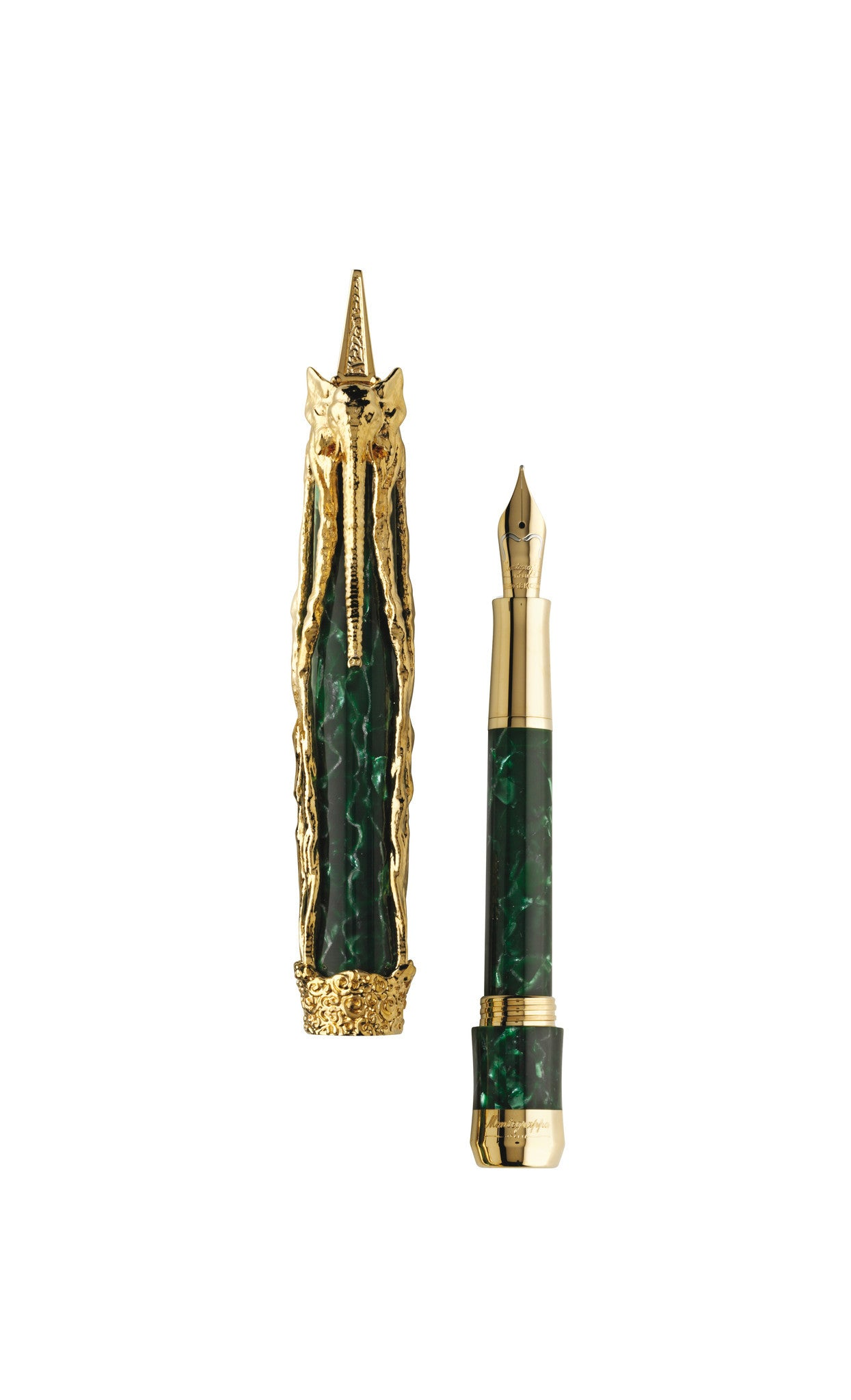 7a4ecd2931c Montegrappa Salvador Dali Fountain Pen - Gold - Montegrappa UK