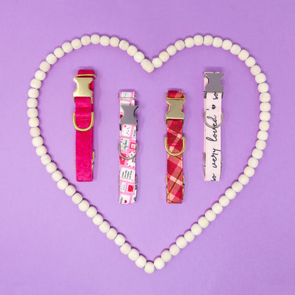Valentine's Dog Collars