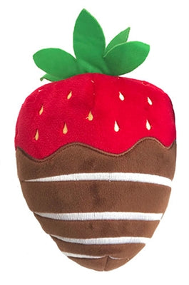 Chocolate Strawberry Dog Toy