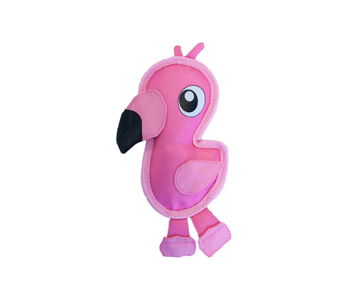 Flamingo Fire Biterz Dog Toy