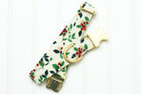 Holly Berries Dog Collar