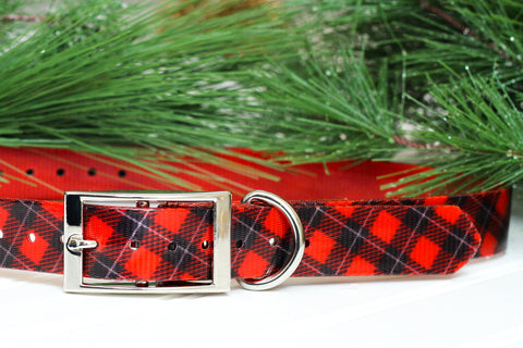 Buffalo Plaid TITAN Collar
