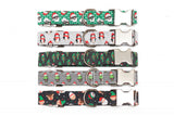 Christmas Characters Dog Collar