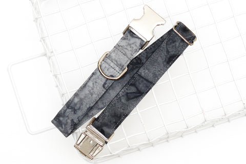 Charcoal Ombre Dog Collar