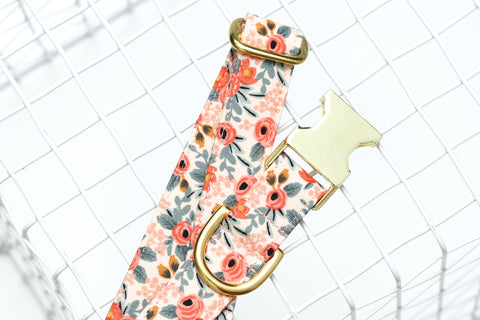 Rifle Paper Co Floral Dog Collar