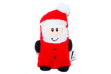 Santa, Reindeer, Snowman Dog Toy