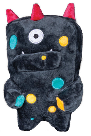 Gray Monster Ghim Dog Toy