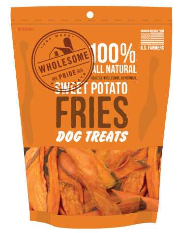 Sweet Potato Fries Dog Treats