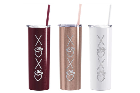 Valentines Engraved Insulated Tumblers