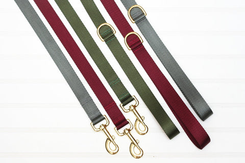 Solid Color Endurance Leashes