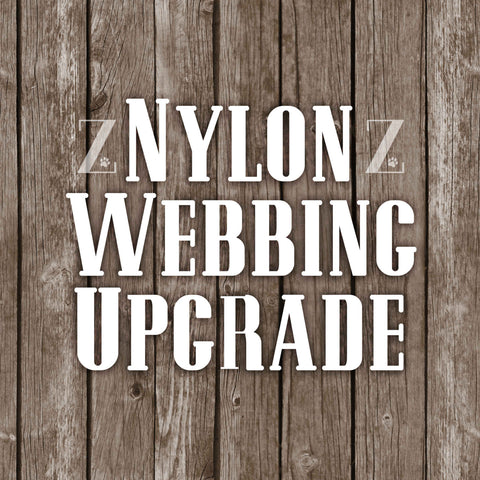 Upgrade collar to be on Nylon Webbing