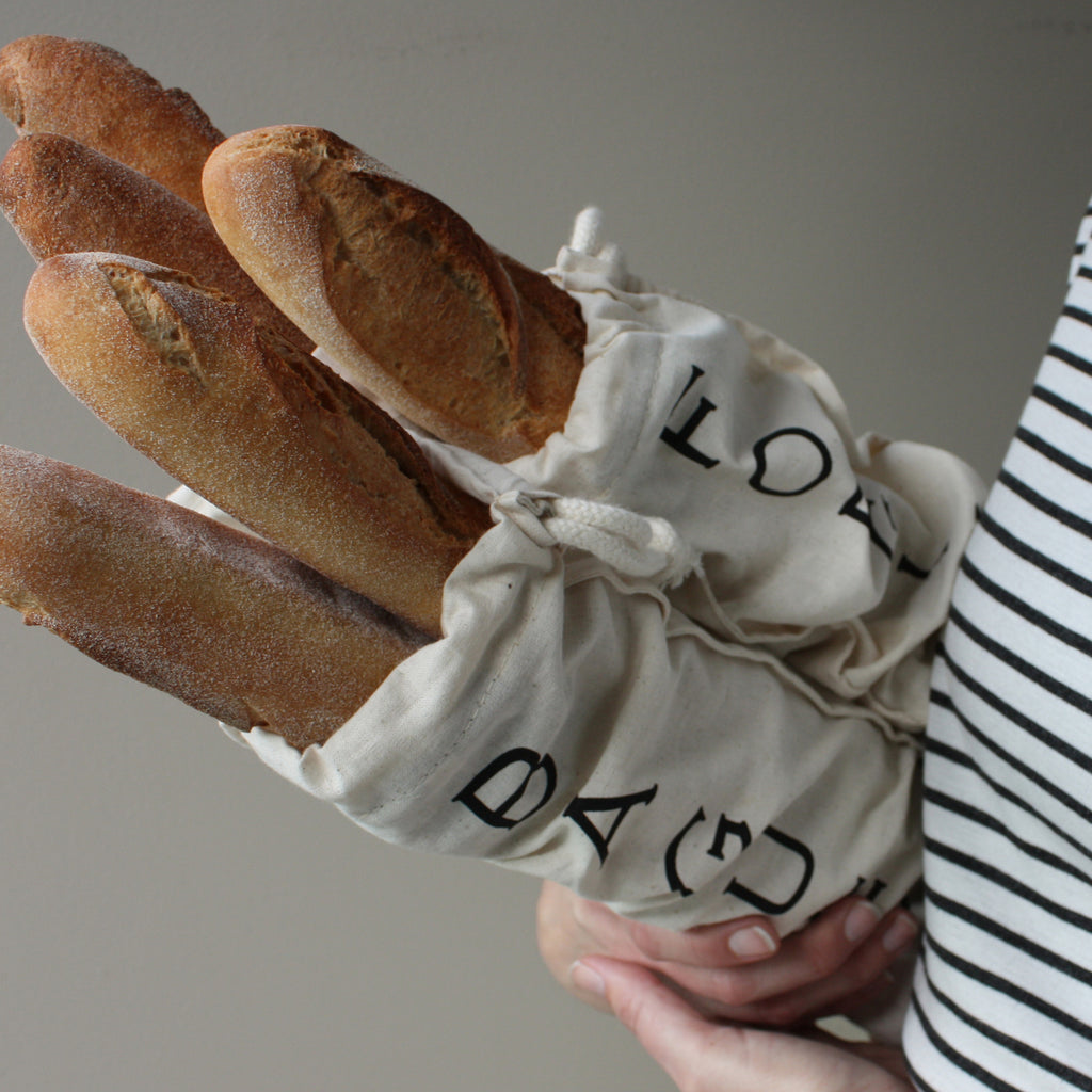 Baguette bag - 'Forgive & Baguette' or 'Baguette me not'