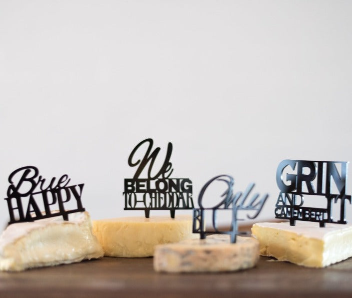 I want the set - Set of Four Cheese markers