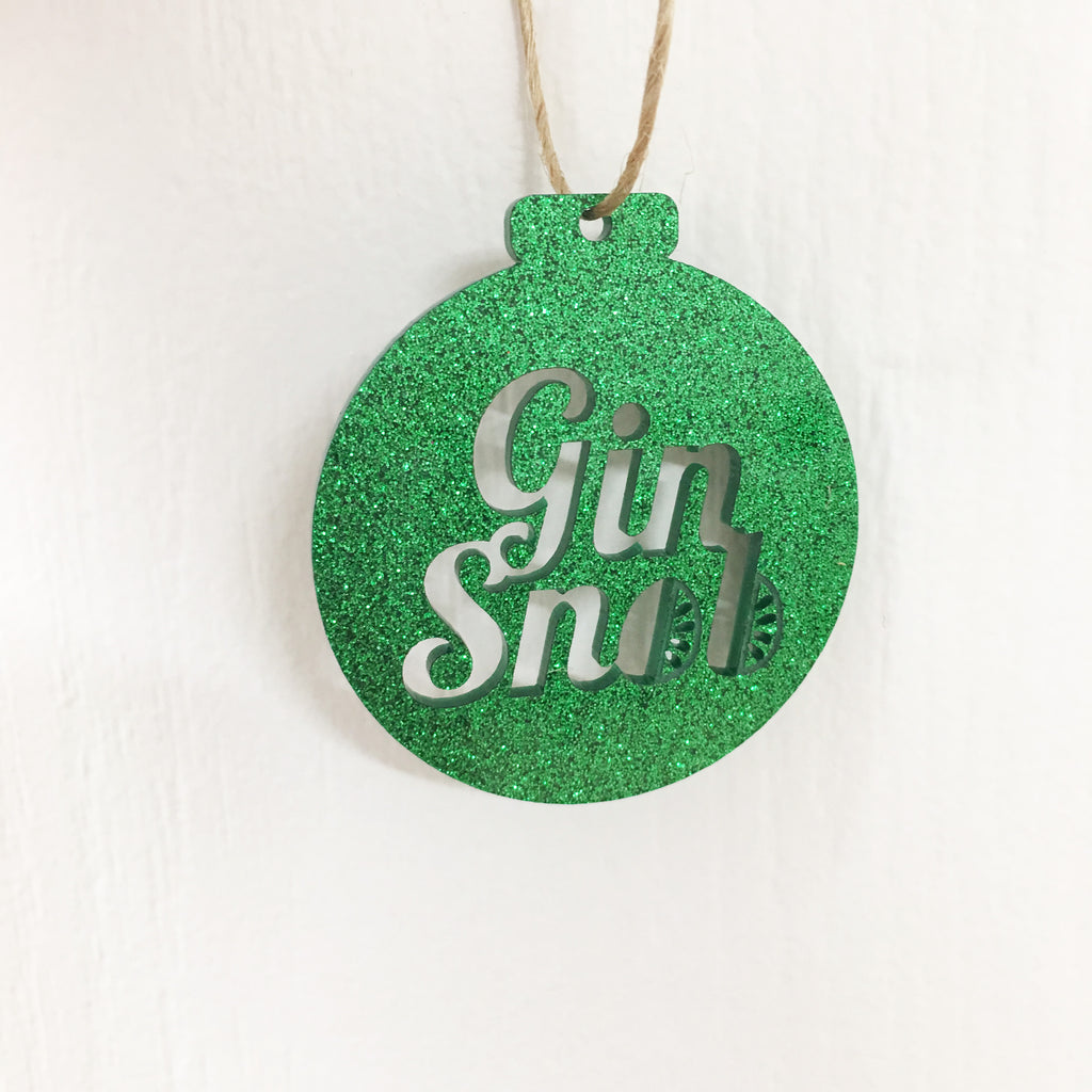 Gin Snob - Christmas Decoration