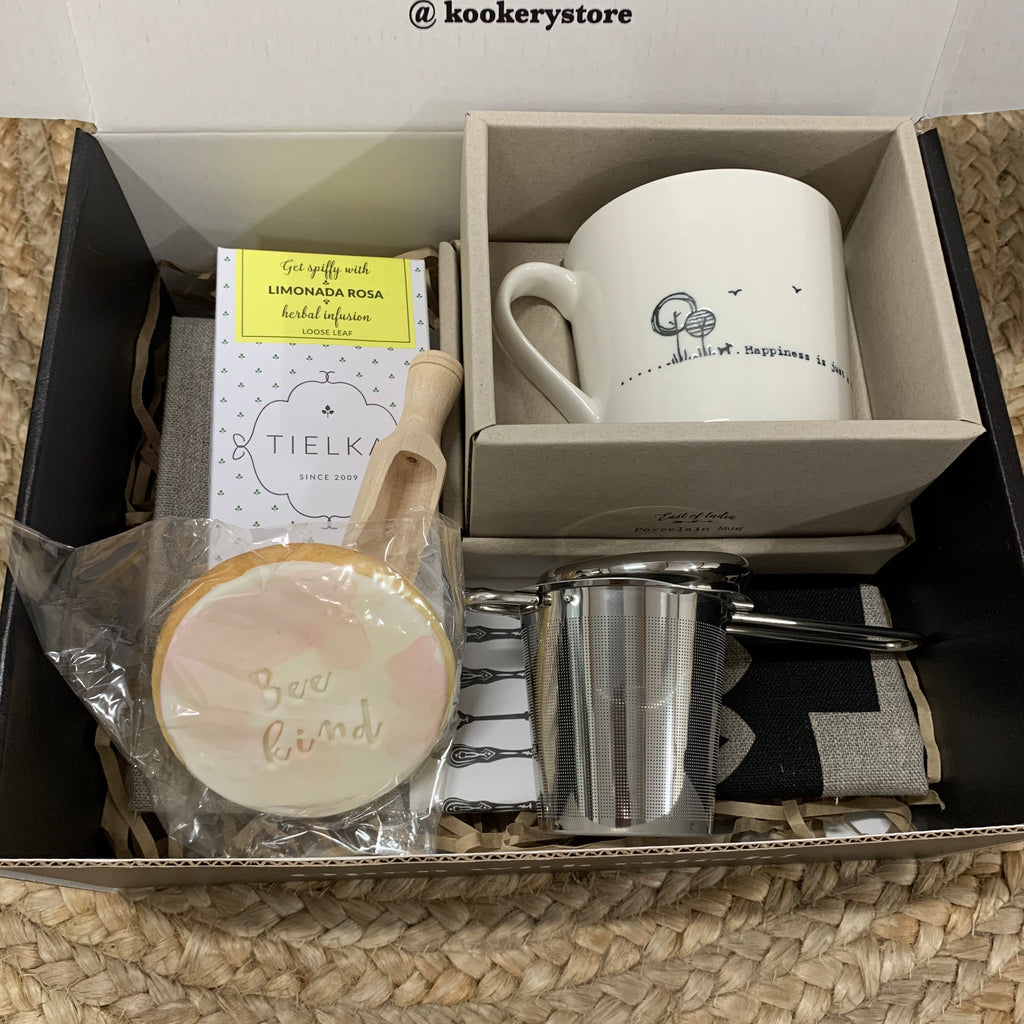 'Drink tea with me - A teapot shared is a problem halved' Gift Box