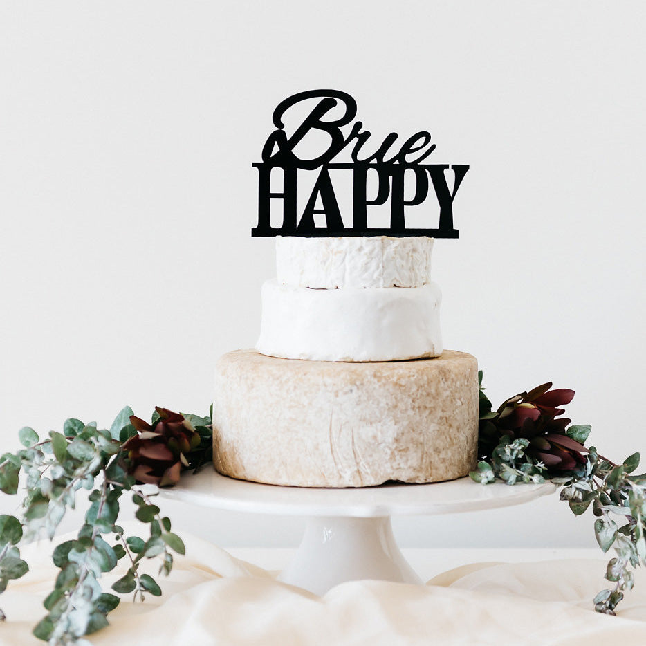 'Brie Happy' Cheese Toppers | Cheese Towers & Celebrations