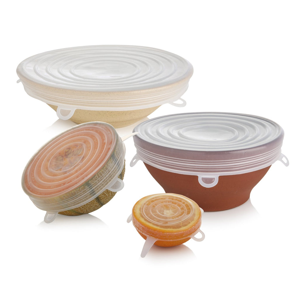 Food Pouch & Silicone Lids