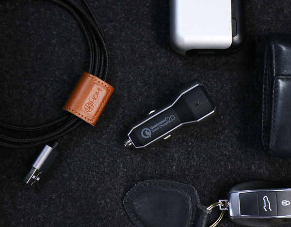 HOMI - CAR CHARGER ( QUALCOMMQUICK CHARGE 2.0 )