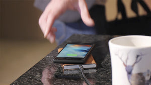 HOMI - Wireless Charging Solutions - One hand operation