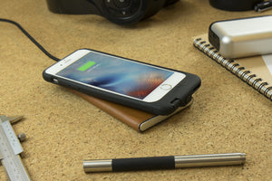 HOMI - Charging should be easy, wireless and untangled - LeatherDock