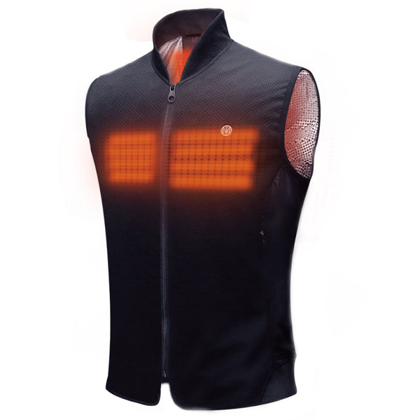 SUSTAIN Sport Heated Vest - Dark Steel Gray - Homicreations.com - SUSTAIN Heated Scarf, iPhone 8, iPhone 8 Plus, iPhone X qi wireless charging docks, QC 2.0 car chargers & MFI lightning cables