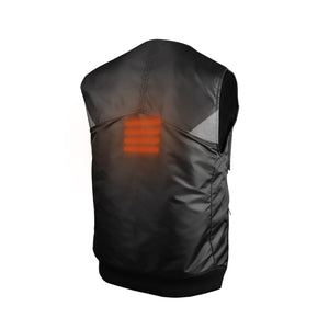SUSTAIN Utility Heated Vest - Black / Navy - Homicreations.com - SUSTAIN Heated Scarf, iPhone 8, iPhone 8 Plus, iPhone X qi wireless charging docks, QC 2.0 car chargers & MFI lightning cables