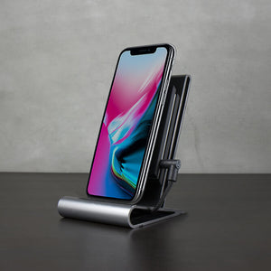 CoreStand Wireless Charger - qi wireless charging compatible with iPhone 8, iPhone 8 Plus & iPhone X, iPhone XS, iPhone XS Max & iPhone XR - Homicreations.com - SUSTAIN Heated Scarf, iPhone 8, iPhone 8 Plus, iPhone X qi wireless charging docks, QC 2.0 car chargers & MFI lightning cables