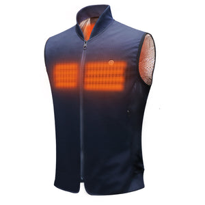 SUSTAIN Sport Heated Vest - Navy - Homicreations.com - SUSTAIN Heated Scarf, iPhone 8, iPhone 8 Plus, iPhone X qi wireless charging docks, QC 2.0 car chargers & MFI lightning cables