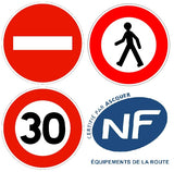 Panneaux routiers type B norme NF-CE