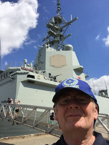 HMAS Brisbane 7/4/19 meet and greet