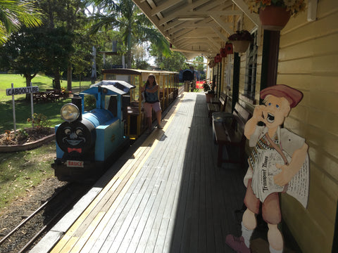 Meet the Town Crier on the 2nd September 2017 for Heritage Day at the Caboolture Historical Village