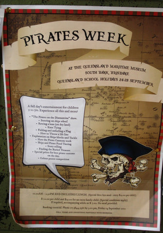 PIRATE WEEK at the MARITIME MUSEUM 4th to 8th JULY