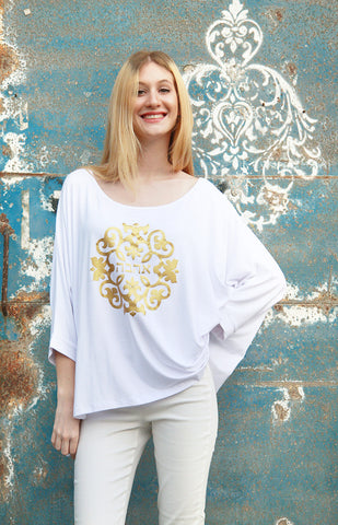 GOLDEN LOVE LOOSE FIT TOP