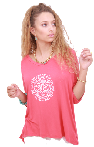 V-NECK TOP CIRCLE OF PLENITUDE