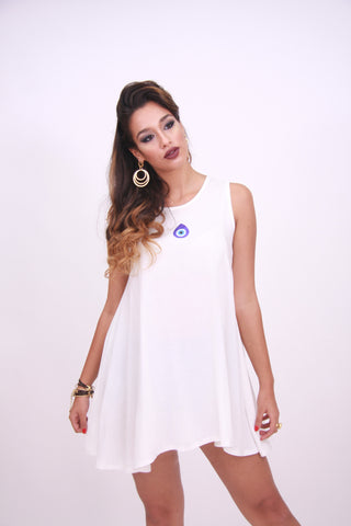 "MINI DRESS ""NAZAR BONCUK"""
