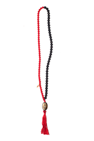 "LONG TASSEL NECKLACE ""JERICHO"""