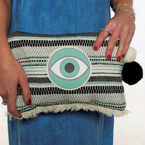 CLUTCH BAG EVIL EYE